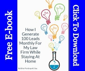 How I Get 100 Leads Per Month E-Book Flat Cover